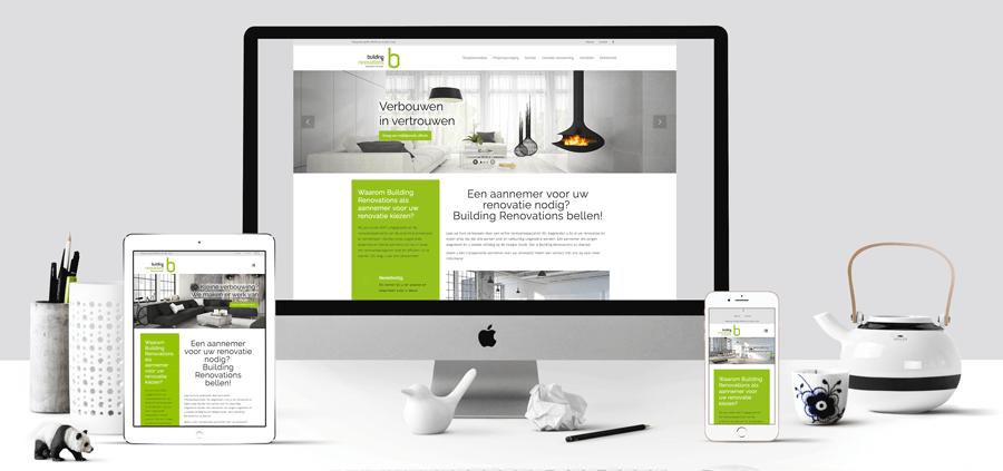 website Building renovations